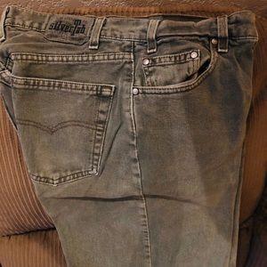 Jeans, Green, Levitz Straus 505